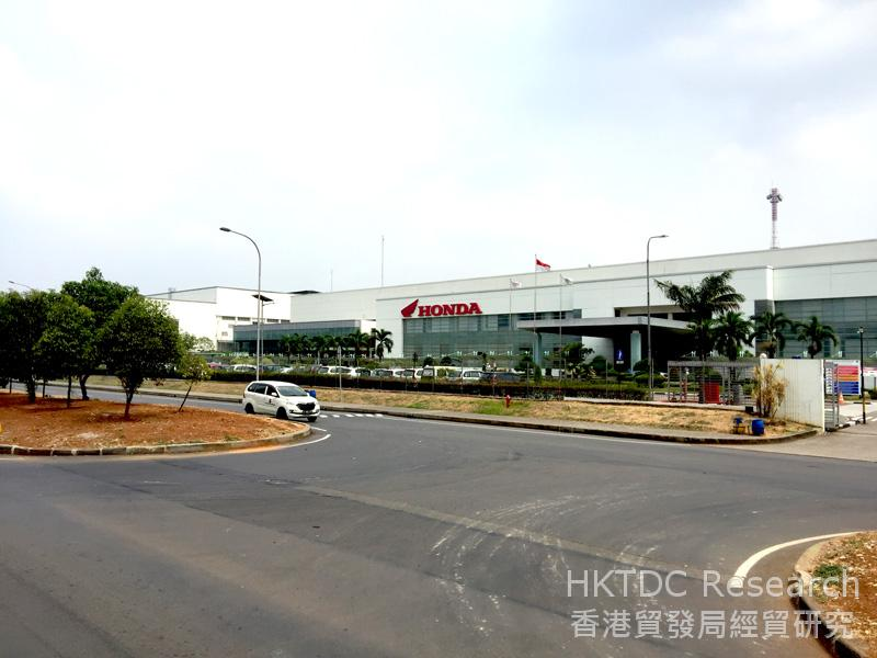 Photo: Honda's factory in MM2100 Industrial Town.