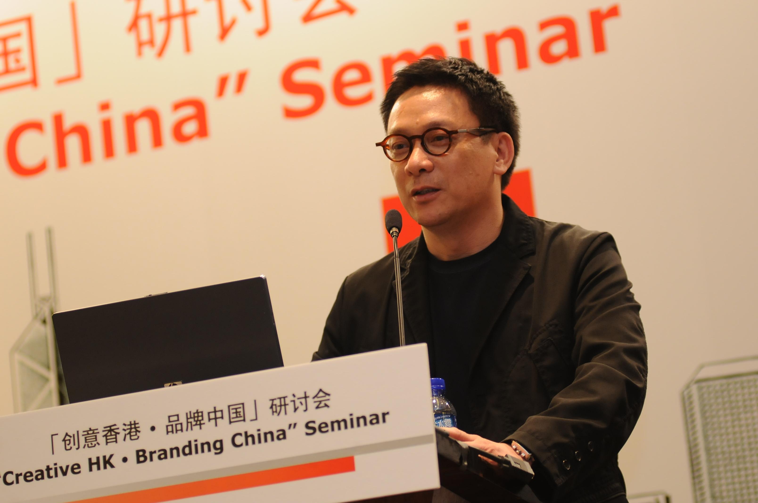 梁志天设计师有限公司创办人兼董事总经理梁志天图片