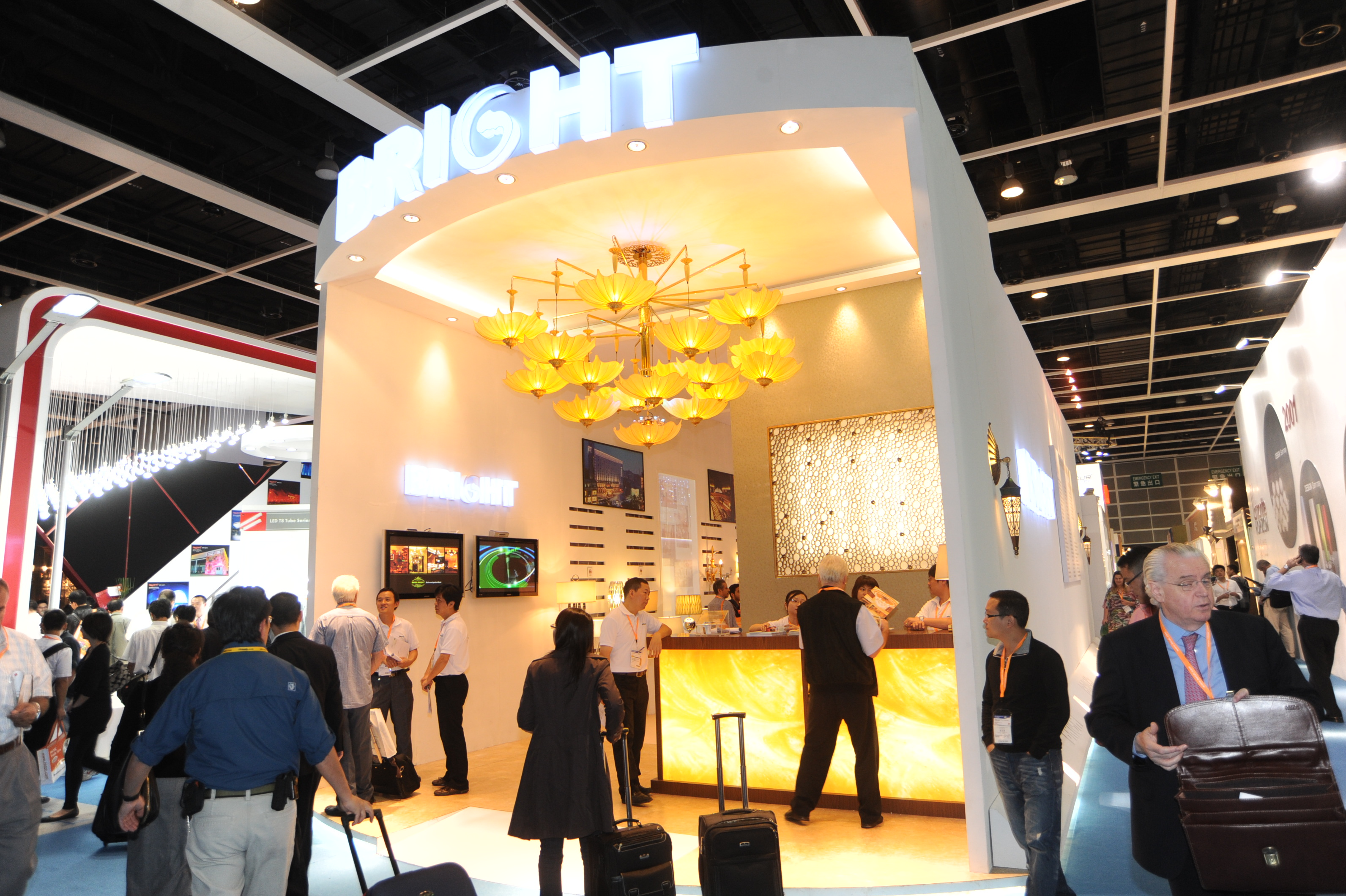 The HKTDC Hong Kong International Lighting Fair (Autumn Edition) opened today with a record 2028 exhibitors & hktdc.com - Asiau0027s Largest Lighting Fair Opens Today in Hong Kongu003cbr ...