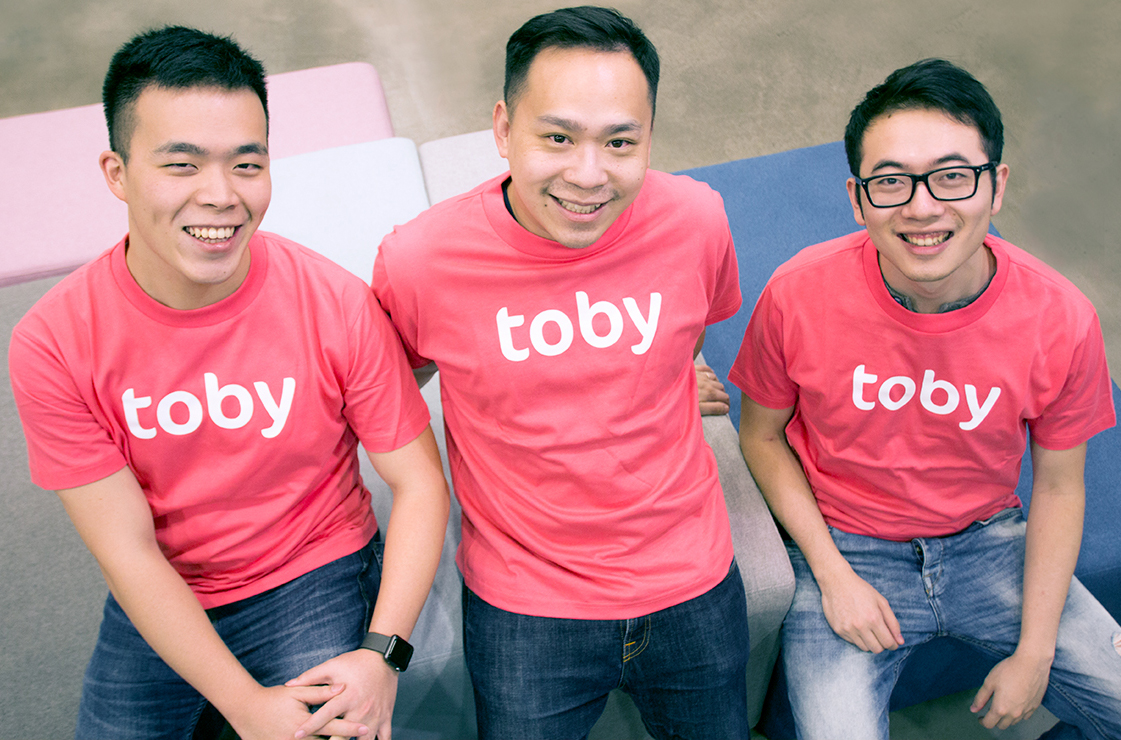HelloToby.com Co-founders