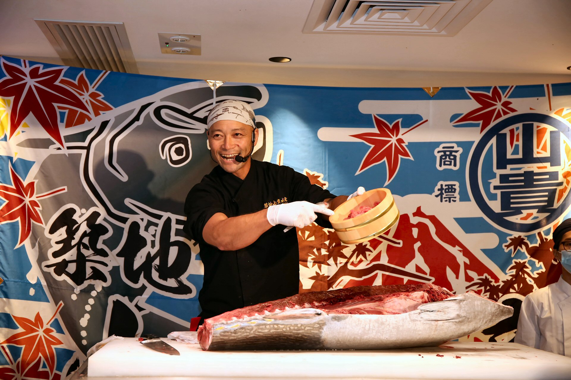 Japanese Delights Tuna-cutting Demonstrations