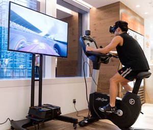 Innovation Lab VR Fitness Bike