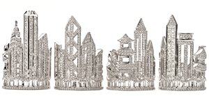 Hong Kong Jewellery Design Competition Urban Reflection