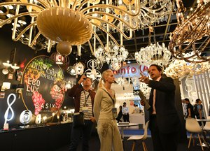 Hong Kong International Lighting Fair AE Hall of Aurora