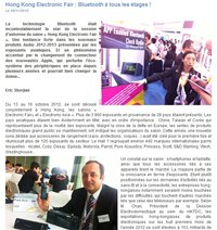 Neomag 2012.11 - article : Hong Kong Electronics Fair (Autumn Edition) 2012