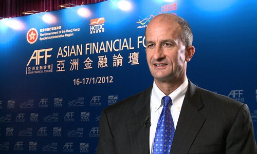 John Rice, HKTDC, AFF, Asian Financial Forum