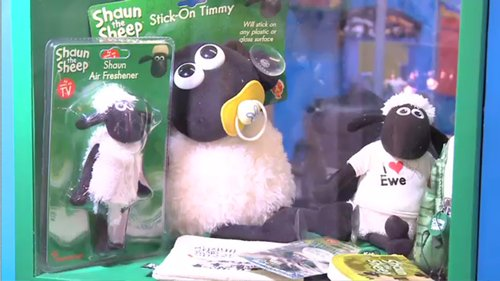 hong kong licensing show, shaun the sheep