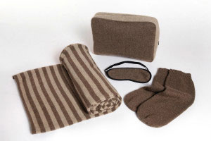 Eco-Cashmere Travel Kit Set